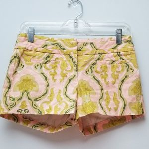 J. CREW | PATTERNED SHORTS, SIZE 0